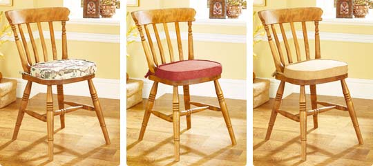 Kitchen Chair Seat Cushion Covers: DINING ROOM CHAIR CUSHION COVERS PLASTIC