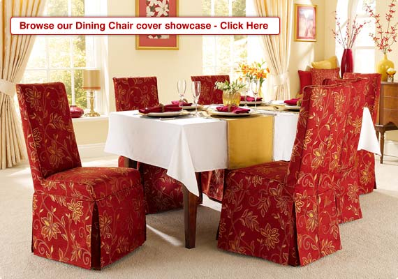 Dining Chair Slipcovers  Folding Chair Covers