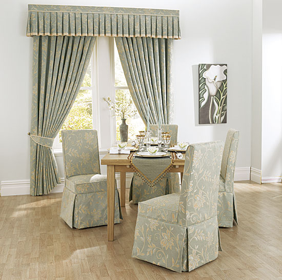 VELVET DINING ROOM CHAIR COVER : Chair Pads u0026 Cushions